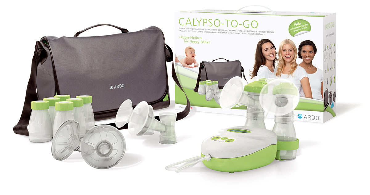 ARDO Calypso-TO-GO mellszívó dobozzal